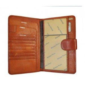 Дорожное портмоне для авиабилетов Bristan Wero 117449 Travel Сognac