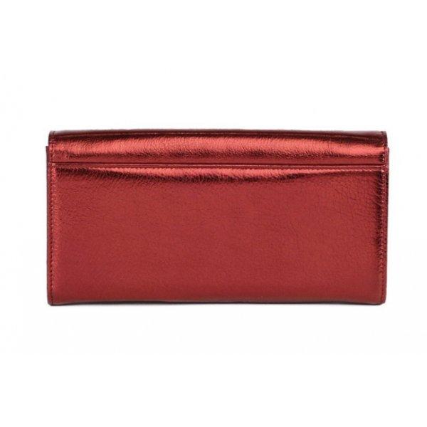 Кошелек женский кожаный красный Bristan Wero 119452